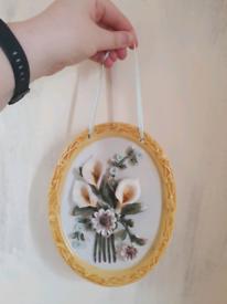 Ceramic hanging plaque