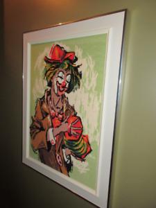 5 cadres Clowns