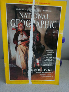 1990, 91 and 92 National Geographic books Cornwall Ontario image 2