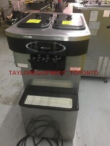 taylor c713-27 air cooled single 1 phase ice cream machine