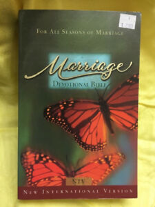 Bible ~ $15 - Marriage Devotional Bible - in very good condition