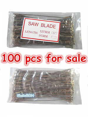 100 Pcs New Dental Lab Long Plaster Saw Blades 127mm Free Shipping