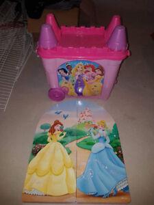Ensemble meuble lit princess Disney - bed