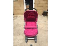 Mamas and Papas Luna Pushchair in Pink