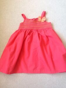 Gymboree Coral Butterfly Sundress Sz 4