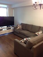 URGENT Sectional sofa with queen bed