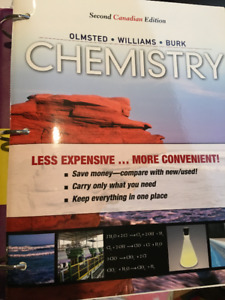 Chemistry Second Canadian Edition Olmsted, Williams, Burk
