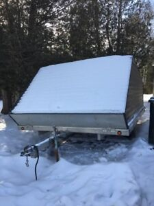 12 Foot Clamshell Trailer