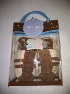 Jack & Lily soft shoes 6-12 months