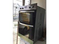 Zanussi double oven in mint condition with a warranty