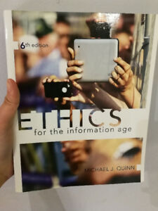 Ethics for the Information Age – 6th Edition – Michael J. Quinn
