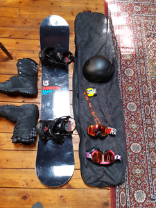 Burton Clash snow board boots and gear fast sell