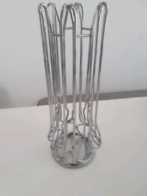 Ever Rich Tower Nespresso Coffee Capsule Pod Holder (Rotating Design)