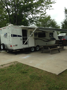 Roulotte Cobalt trail Discovery 25S