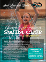 Register with the  Guelph Synchronized Swim Club!