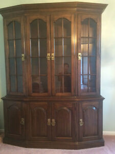 Great deal for Like-new china cabinet