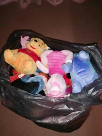 Winnie the pooh teddies