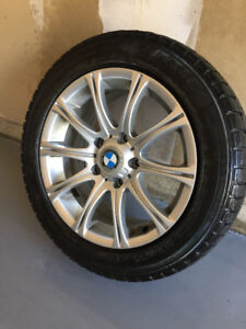 BMW WINTER TIRES AND RIMS FOR SALE