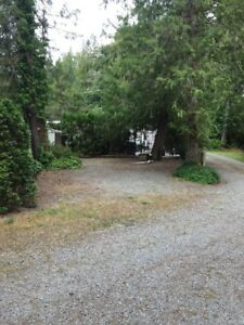 Tall Timbers Holiday Park RV Lot & 5th Wheel on Sproat Lake