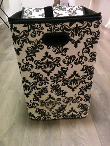 Bouclair foldable laundry hamper