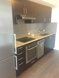 BRAND NEW Luxury 1 Bedroom + Den Condo for Rent