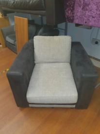 6. Grey and black armchair