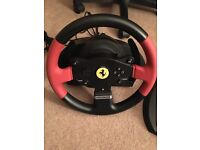 Thrustmaster steering wheel Like new