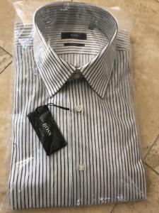 Brand NEW AUTHENTIC HUGO BOSS Men's Dress Shirt