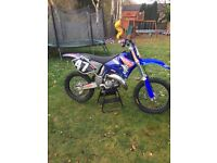 Yz 125 03 swaps for 250 4 stroke motocross bike