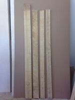 Basswood, Roughsawn and dry.