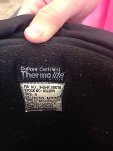 Used winter steel toed boots Strathcona County Edmonton Area image 4
