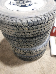 canyon rims and tires