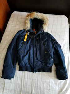 Authentic Parajumpers Gobi Bomber Jacket (Navy Blue Small)