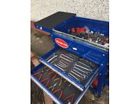 Blue Point tool trolley with tools