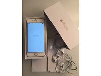 UNLOCKED 64GB iPhone 6 (Gold) - Full accessories