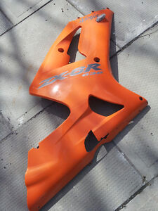 Kawasaki 636 zx6r zx6 side panel fairing stunt plastic body