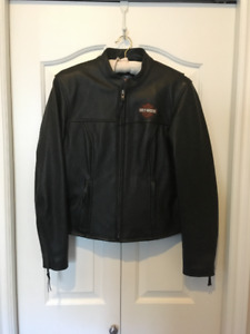 Brand New Ladies Harley Davidson Leather Size M