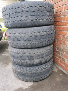 Free tires 275/55R20