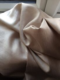 "46"" x 90"" beige curtains from dunelm"