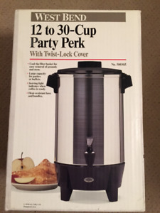12-32 cup Coffee perc