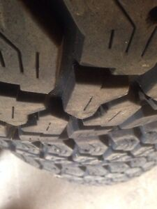 4-Goodyear workhorse 225/75/16 like new Peterborough Peterborough Area image 2