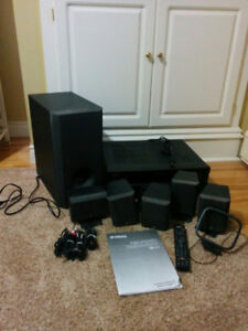 Yamaha Home Cinema 5.1 CH Speaker Package with Subwoofer