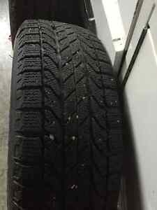 4 winter tires and rims for sale London Ontario image 3
