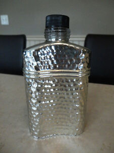 Vintage 1988 Old Spice Silver Coated Admirals Cologne Flask Kitchener / Waterloo Kitchener Area image 2