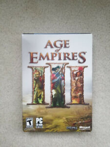 Age of Empires 3 - Real Time Strategy Game for PC - Brand New