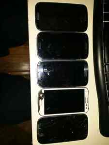 5 galaxy s3 Samsung cell phones $30 obo
