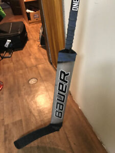 Bauer Vapour composite right handed goalie stick (barley used)