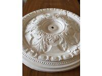 Ornate plaster ceiling rose 70cm