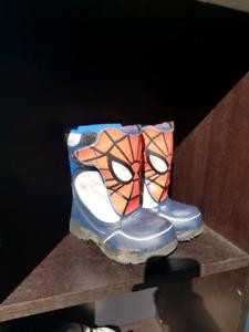 Kids Spider-Man winter boots