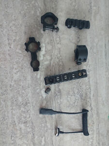 Airsoft/Paintball rail/mount/fillage
